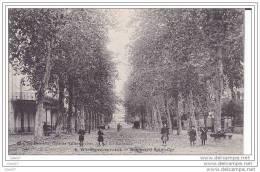 Cpa Réf-JP-X183 ( Dép-47 à VILLENEUVE Sur LOT )  Jeunes Enfants Sur Le Boulevard  St-Cyr - Villeneuve Sur Lot
