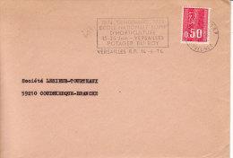 Versailles - 1974 - Flamme école Horticulture  - Potager Du Roy - !! Enveloppe Entière - Marcophilie (Lettres)