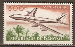 DAHOMEY.  Aéro .  .1963.  Y&T N°27 *.   Avion /  Douglas D-C.8 En Vol. - Bénin – Dahomey (1960-...)