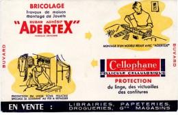 Buvard : Bricolage, Ruban Adhésif Adertex Pour Travaux De Maison Et Montage De Jouets. - Autres