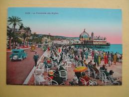 NICE. La Promenade Des Anglais. - Places, Squares