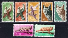 IFNI 1957 .AÑO COMPLETO.EDIFIL Nº 135/141TOTAL 7 SELLOS .NUEVOS CON LIGERA CHARNELA .SES397 - Ifni