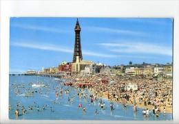 GB1030 -  Golden Beach And Tower, BLACKPOOL (Lancashire) - Blackpool