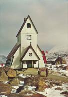 Nanortalik Church KGH Postcard Unused 1973 - Groenland