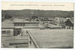 CPA Rhône - 69 - Lyon - Exposition 1914 - Eolienne - Châteaux D'eau & éoliennes