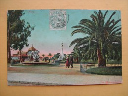 NICE. Le Jardin Public. - Parcs Et Jardins