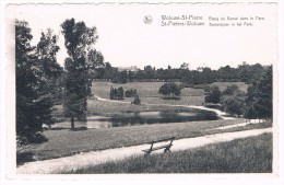 Parc De Woluwe-St-Pierre, Etang Du Bemel Dans Le Parc, Edit. Nootens N° 4 - 2 Scans - Woluwe-St-Pierre - St-Pieters-Woluwe