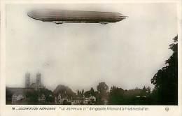 Réf : D-15-3770 : LOCOMOTION AERIENNE LE ZEPPELIN II DIRIGEABLE ALLEMAND A FRIEDRIESHAFEN - Friedrichshafen