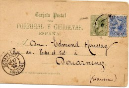 Courrier De Gerona En 1898 - Espagne