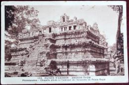 CPA Ruines Angkor Thom Phiméanakas Chapelle Enceinte Palais Royal Cambodge - Cambodia