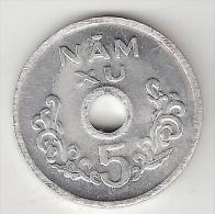 S Vietnam  5 Xu 1975  Km  A 10  Unc - Viêt-Nam