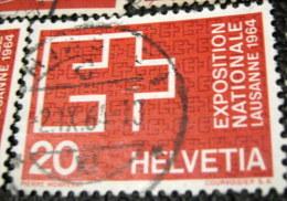 Switzerland 1963 EXPO Lausanne 1964 20c - Used - Switzerland