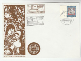 1966 Switzerland TIBETAN CHILDRENS VILLAGE EVENT COVER AUtomobile Post BUS Pmk Stamps Tibet Postbus - Switzerland