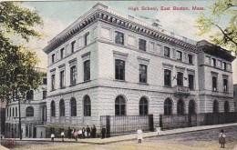 High School East Boston Massachusetts 1907 - Schools