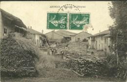 39 AROMAS Près De GERMAGNAT CEFFIA St JULIEN ARINTHOB Hameau De L'Hopital CPA  Circulée En 1915 - Altri Comuni