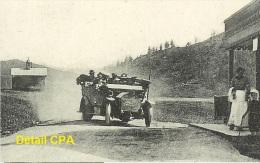 La GIETTAZ (73)Chalet Hôtel Des Aravis- Arrivée Autobus De Flumet Années 1910 ... - Buses & Coaches
