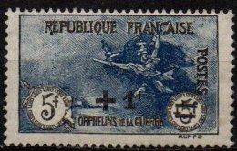 FRANCE - + 1 F Sur 5 + 5 F. Orphelins De La Guerre Neuf Très Beau D'aspect - France