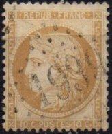 FRANCE - 10 C. Siège Oblitéré GC 1939 TTB - 1870 Siege Of Paris