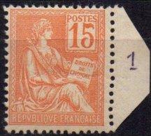 FRANCE - 15 C. Mouchon Neuf - 1900-02 Mouchon