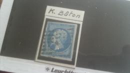 LOT 268266 TIMBRE DE FRANCE OBLITERE CACHET K BATON
