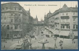Frankfurt A. M. Kaiserplatz, Lloyds Bremen U. Antiquitäten Goldschmidt (AK246) - Frankfurt A. Main