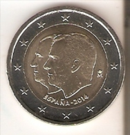 MONEDA DE ESPAÑA DE 2 EUROS DEL AÑO 2014 DE FELIPE VI   NUEVA-MINT - Spain