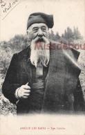 66 - AMELIE LES BAINS  - Type Catalan - 1914- 2  Scans - Autres Communes