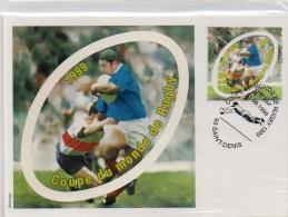 Carte Maximum Coupe Du Monde De Rugby 1er Jour 11 09 1999 93 Saint-denis - Rugby