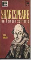 "Jean JONVET SHAKESPEARE Un Hombre Solitario ""Enciclopedia Popular Illustrada"" - Culture"