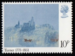 GREAT BRITAIN - Scott #739 View Of St. Laurent By Turner / Mint NH  Stamp - Altri