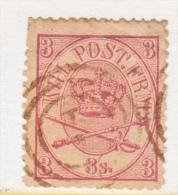 DENMARK  12  Fault  Perfs  (o) - 1864-04 (Christian IX)