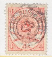 DENMARK  13      (o)  CD 53  RANDERS - 1864-04 (Christian IX)
