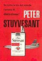PUBBLICITA´-SIGARETTE Peter Stuyvesant - CIGARETTES-TOBACCO-FUME´E-SMOKE-ADVERT 1960- - Reclame
