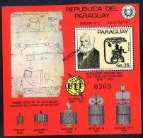 PARAGUAY - GRAHAM BELL Mi # Bl 278 SPECIMEN VF - Paraguay