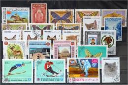 Yemen-Lot Stamps (ST338) - Yémen