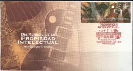 2015 MÉXICO Día Mundial Propiedad Intelectual FDC World Intellectual Property Day, MUSICAL INSTRUMENTS, GUITARS - Music