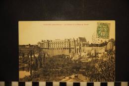 CPA  79, THOUARS, Le Chateau Et La Vallée Du Thouet - Thouars