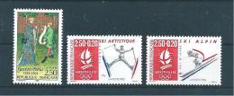 France Timbre De 1991 N°2708 A 2710  Neuf ** Vendu Prix De La Poste - Neufs