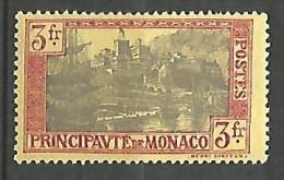 MONACO N� 101 NEUF* TRACE DE CHARNIERE / MH /