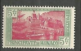 MONACO N� 102 NEUF* TRACE DE CHARNIERE / MH /