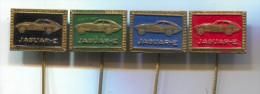 JAGUAR E - Car  Automobile, Vintage Pin  Badge, Lot 4 Pieces - Jaguar