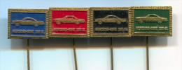 MERCEDES BENZ 230 SL - Car  Automobile, Vintage Pin  Badge, Lot 4 Pieces - Mercedes