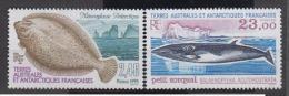 TERRES AUSTRALES     1995                N°   196 / 197         COTE       12 € 75            ( Y 229 ) - Terres Australes Et Antarctiques Françaises (TAAF)