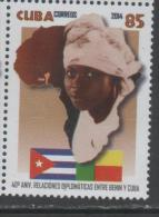 FLAGS, 2014, MNH, 40TH ANNIVERSARY OF DIPLOMATIC RELATIONS WITH BENIN,1v - Stamps