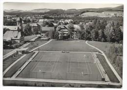 Cpsm: ALLEMAGNE - HINTERZARTEN Hôtel Adler - Tennisplatz (Les Tennis)  1959 - Hinterzarten