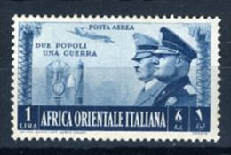 1938 -  Italia - COLONIE - Africa Orientale Italiana - Sass. N.  A21 - LH -  (C01012015..) - Africa Orientale Italiana