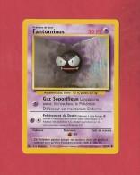 *  Carte Pokémon  1995..Fantominus  :  Gaz Soporifique..30 PV..50 / 102  ( Voir Les 2 Scans ) - Pokemon