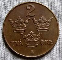 SWEDEN 1950 - 2 ORE - Sweden