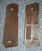 Plaquettes De Poignée / Crosse Pour PA 1911 A1 US / Colt .45 39-45 WW2 - Armas De Colección