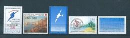 France Timbres De 1992 N°2732 A 2736  Neuf **vendu Prix De La Poste - Unused Stamps